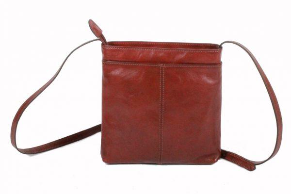 Besace Katana en cuir de Vachette collet K 1807 - Dos