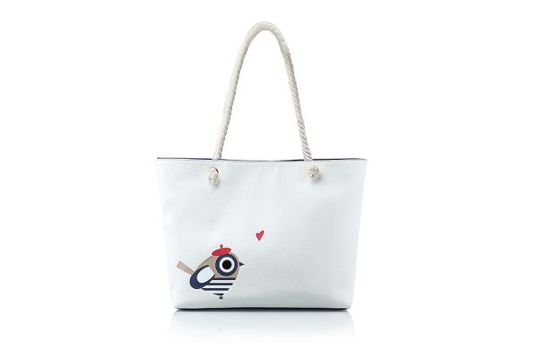 Cabas Andie Blue collection BIRD MARIN A8330