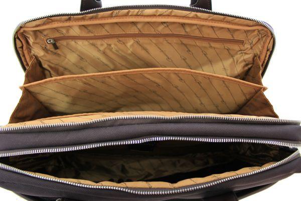 Sacoche Gérard Henon New Styl' GH 2380 Nylon garni cuir de Vachette