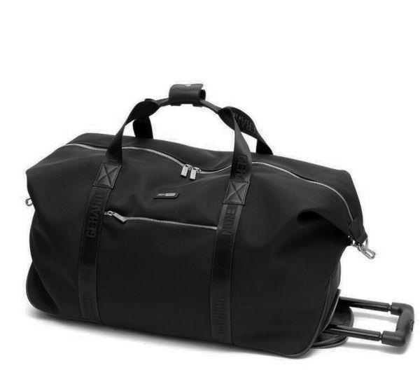 Sac de voyage Gérard Henon New Styl' GH 2391 Nylon garni cuir de Vachette - Noir