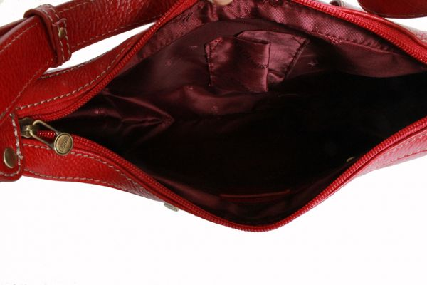 Sac à main Katana en cuir de Vachette K 32603 - Intérieur