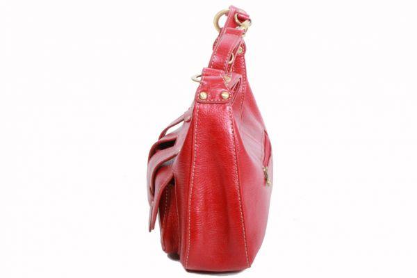 Sac à main Katana en cuir de Vachette K 32603 - Profil