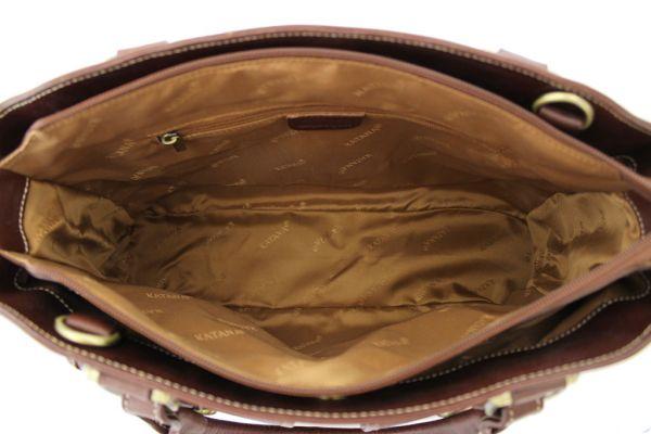 Sac shopping Katana en cuir de Vachette gras K 32908