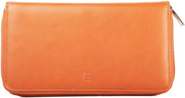 Compagnon / tout-en-un Gérard Henon GH 33519 Cuir de Vachette souple - Orange
