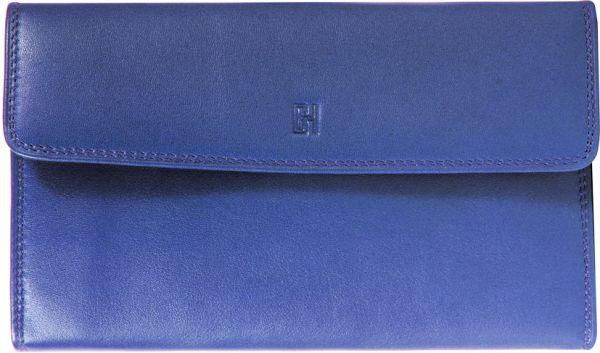 Compagnon / tout-en-un Gérard Henon GH 33522 Cuir de Vachette souple - Bleu