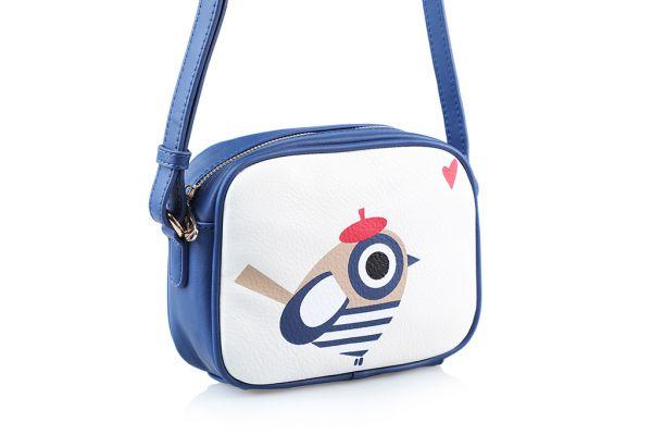 Sac Bandoulière Andie Blue Collection BIRD MARIN A8331
