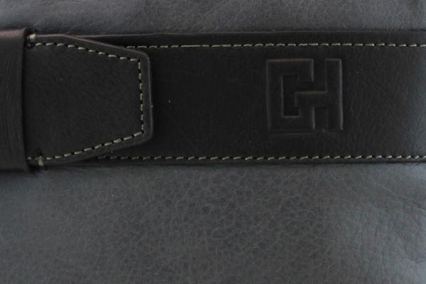 Pochette Gérard Henon Urban GH 2501  Cuir de Vachette lisse souple Gris