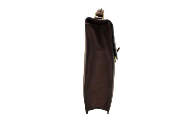 Cartable Arizona Gérard Henon 1 soufflet GH 5225 Cuir de Vachette gras pleine fleur