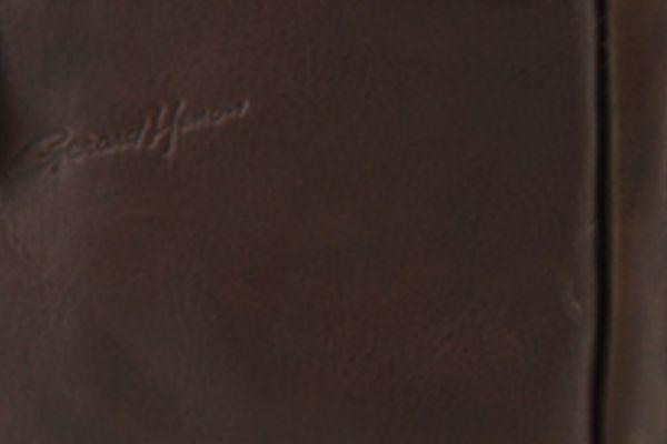 Pochette Gérard Henon Arizona GH 5205 Cuir de Vachette gras pleine fleur Marron