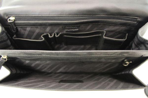 Cartable Katana K 62624 Cuir de vachette lisse