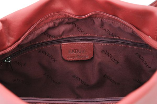 Sac à main Katana K 66915 Cuir de Vachette lisse