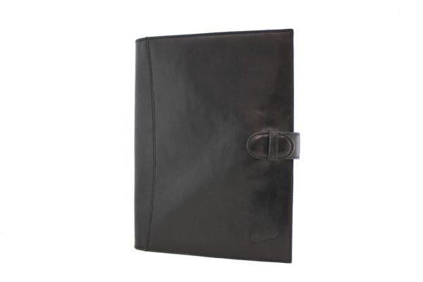 Conférencier porte-document Katana K 68009 Cuir de Vachette collet - Noir