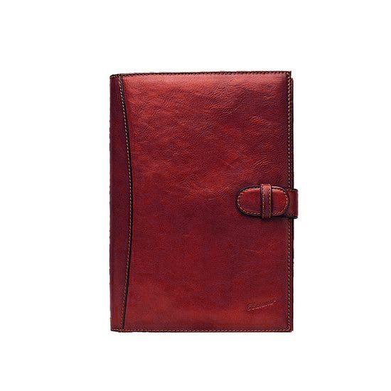 Conférencier porte-document Katana K 68009 Cuir de Vachette collet - Rouge