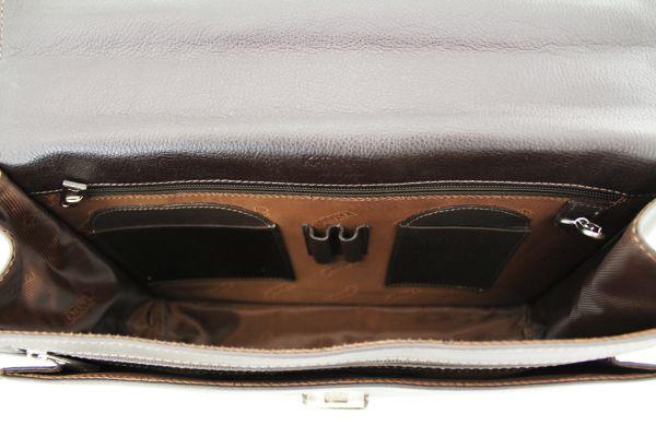 Cartable Katana K 69126 Cuir de Vachette grainé - Intérieur