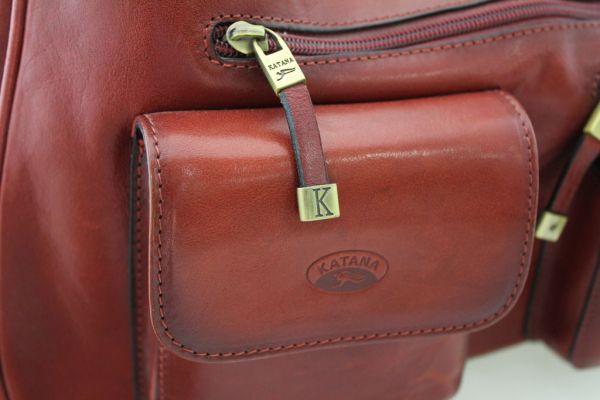 Sac à main Katana K 82360 Cuir de vachette collet