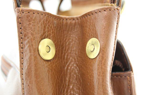 Sac à dos / sac à main Katana K82372 Cuir de Vachette collet détail 1