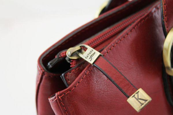 Sac shopping Katana K 82534 Cuir de Vachette collet