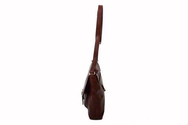 Besace Katana en cuir de Vachette collet K 82632 - Profil