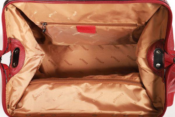 Sac Squaremouth cuir de vachette 83255 - Taille L