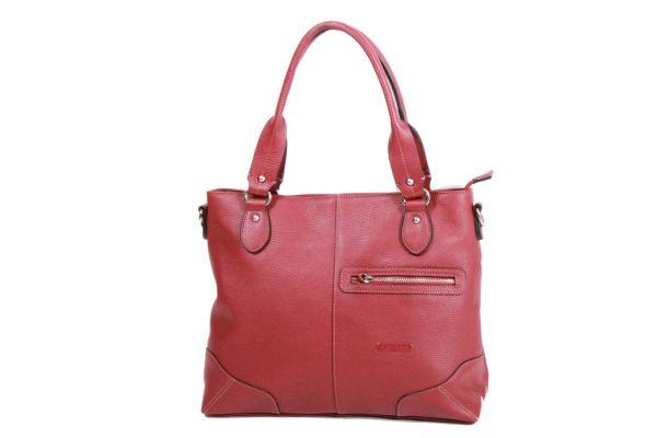Sac Shopping Katana Cuir de Vachette grainé K 83504 rouge