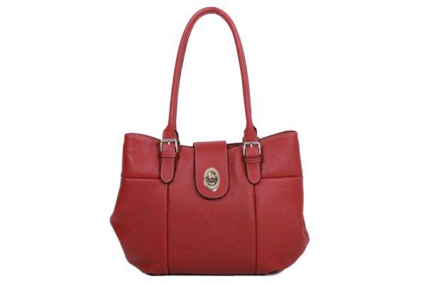 Sac shopping Katana Cuir de Vachette grainé K 83508 rouge