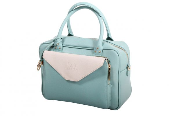 Sac + pochette Andie Blue collection HEKA A8066