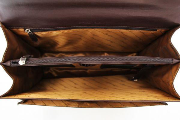 Cartable Softline Gérard Henon GH 2526 Cuir de Vachette lisse souple